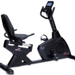 cyclette orizzontale jk fitness top performa 326