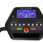 tapis roulant motorizzato jk fitness t5 wave deck console