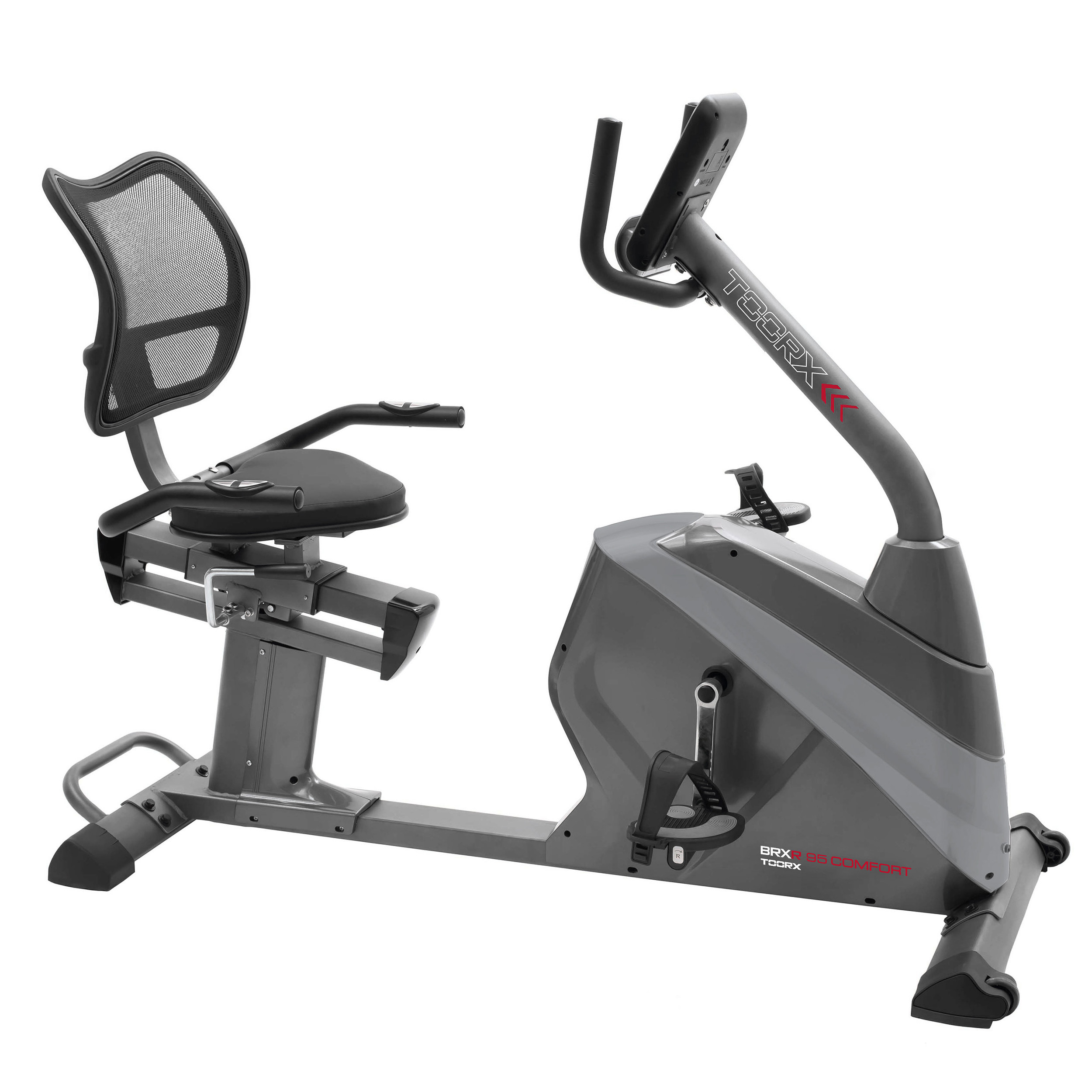 cyclette orizzontale toorx brx 65 hrc